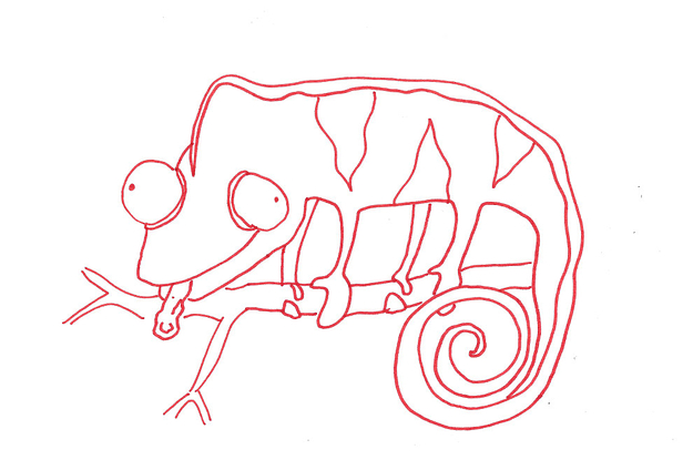 Drawn cameleon A Draw To Chameleon People