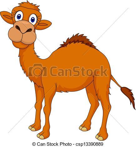 Camel clipart cartoon Vector  camel csp13390889 cartoon