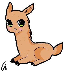 Drawn camel chibi StarValerian by Chibi by Chibi