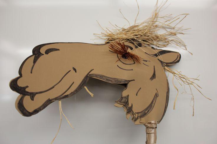 Drawn camels head Horse