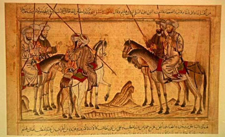 Drawn camel islam Not from  Mohammed and