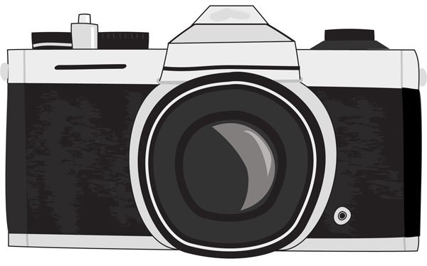 Drawn camera I not when style my