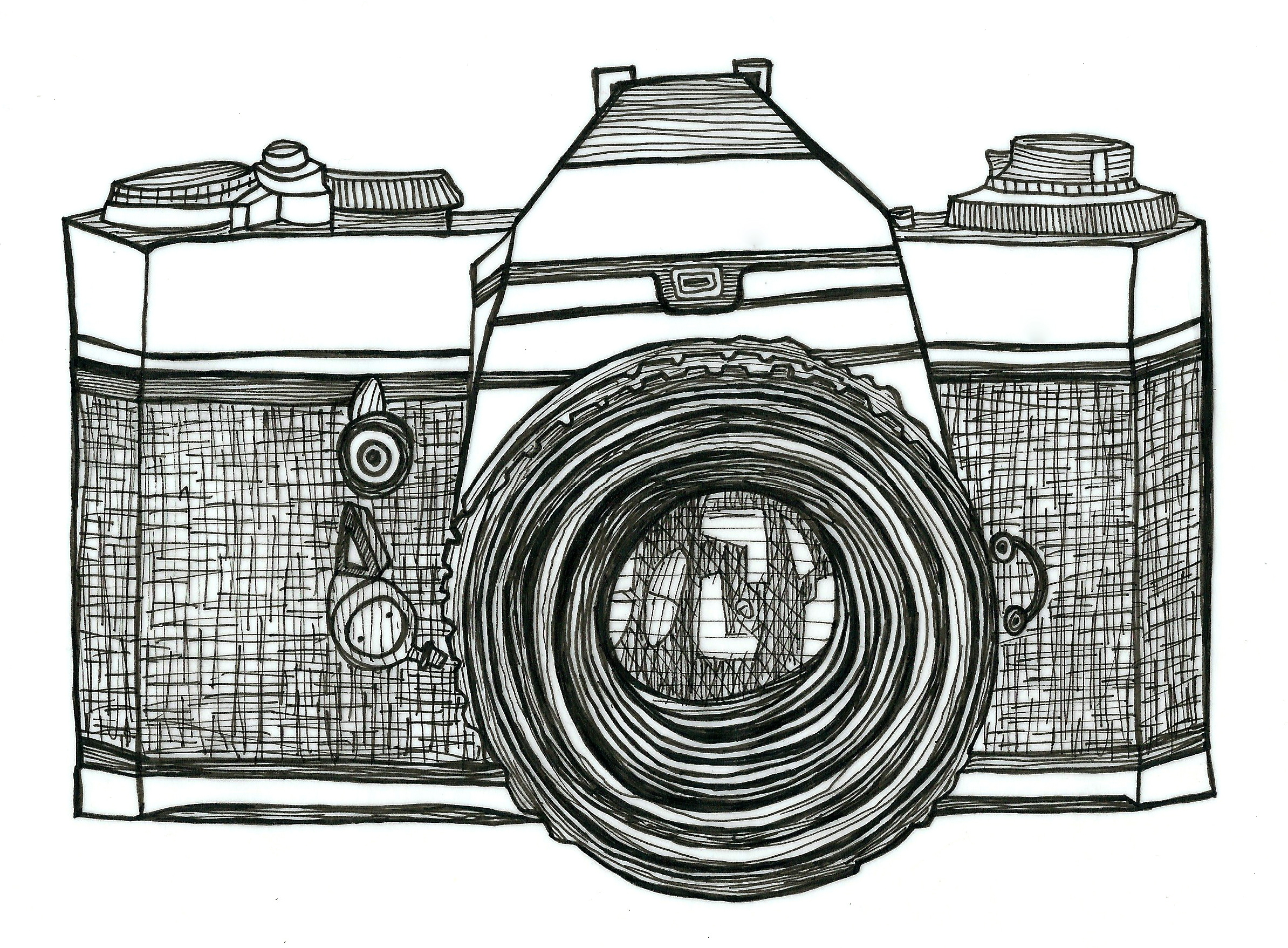 Drawn camera Pinterest File camera drawing camera