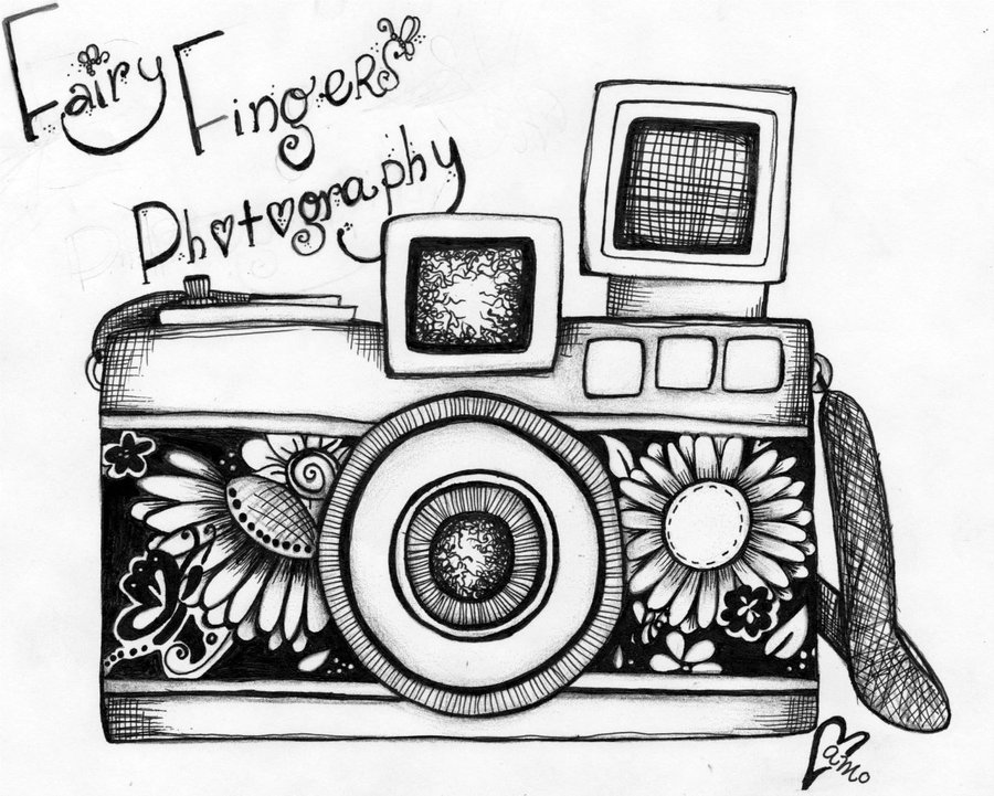 Drawn camera Camera drawing Vintage Camera Best