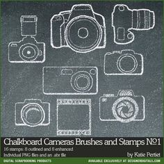 Drawn camera Art StoryBook Word No with