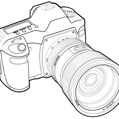 Drawn camera dslr camera SLR Review (@slrview) Review Twitter