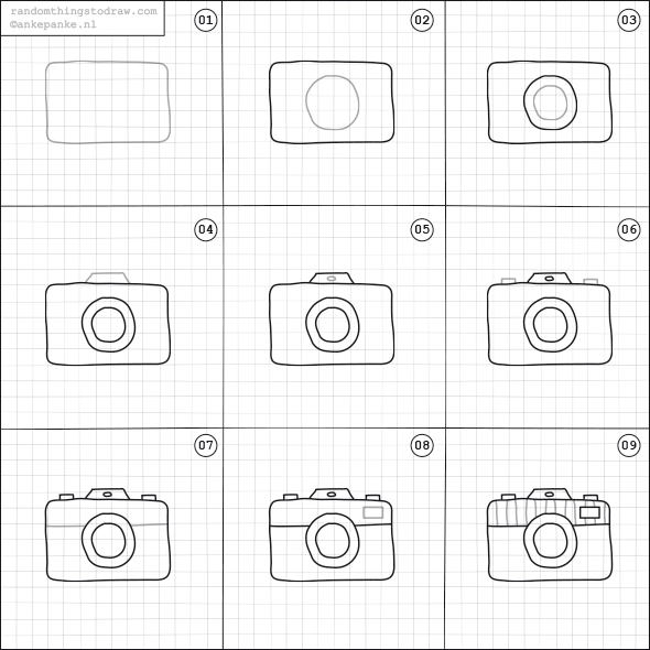 Drawn camera easy Drawings by retro a and