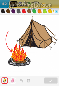 Drawn camp fire SomethingDrawn CAMPFIRE  com of