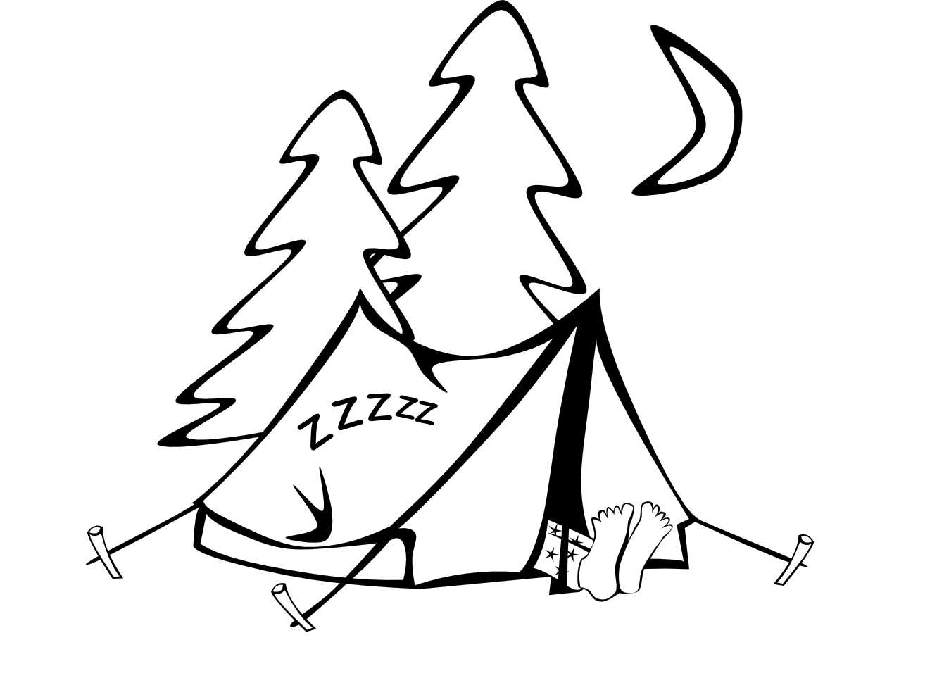 Drawn campire tent Images Free Tent tent%20and%20campfire%20clipart Clipart