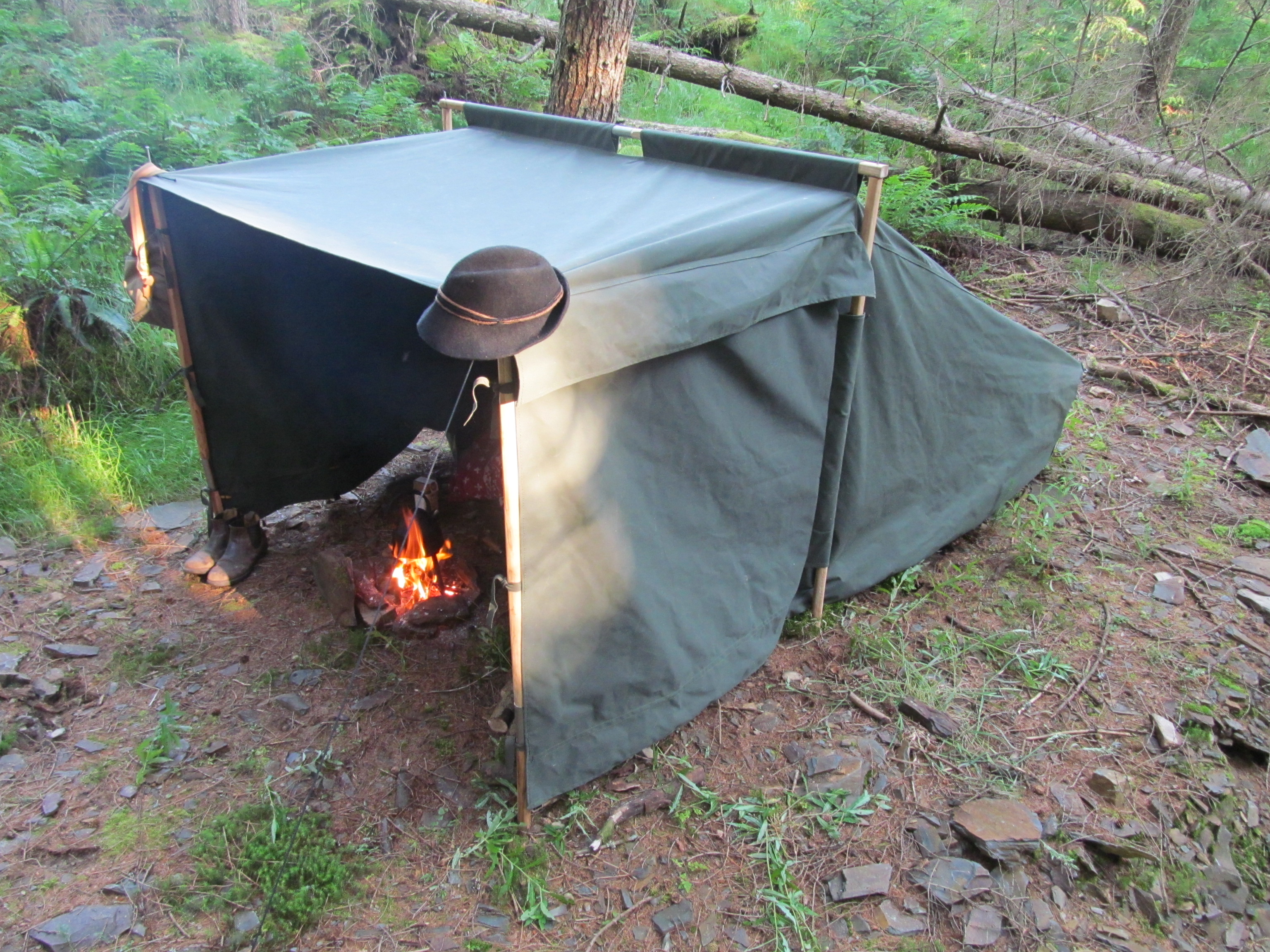 Drawn campire tent I Baker Tent Baker this
