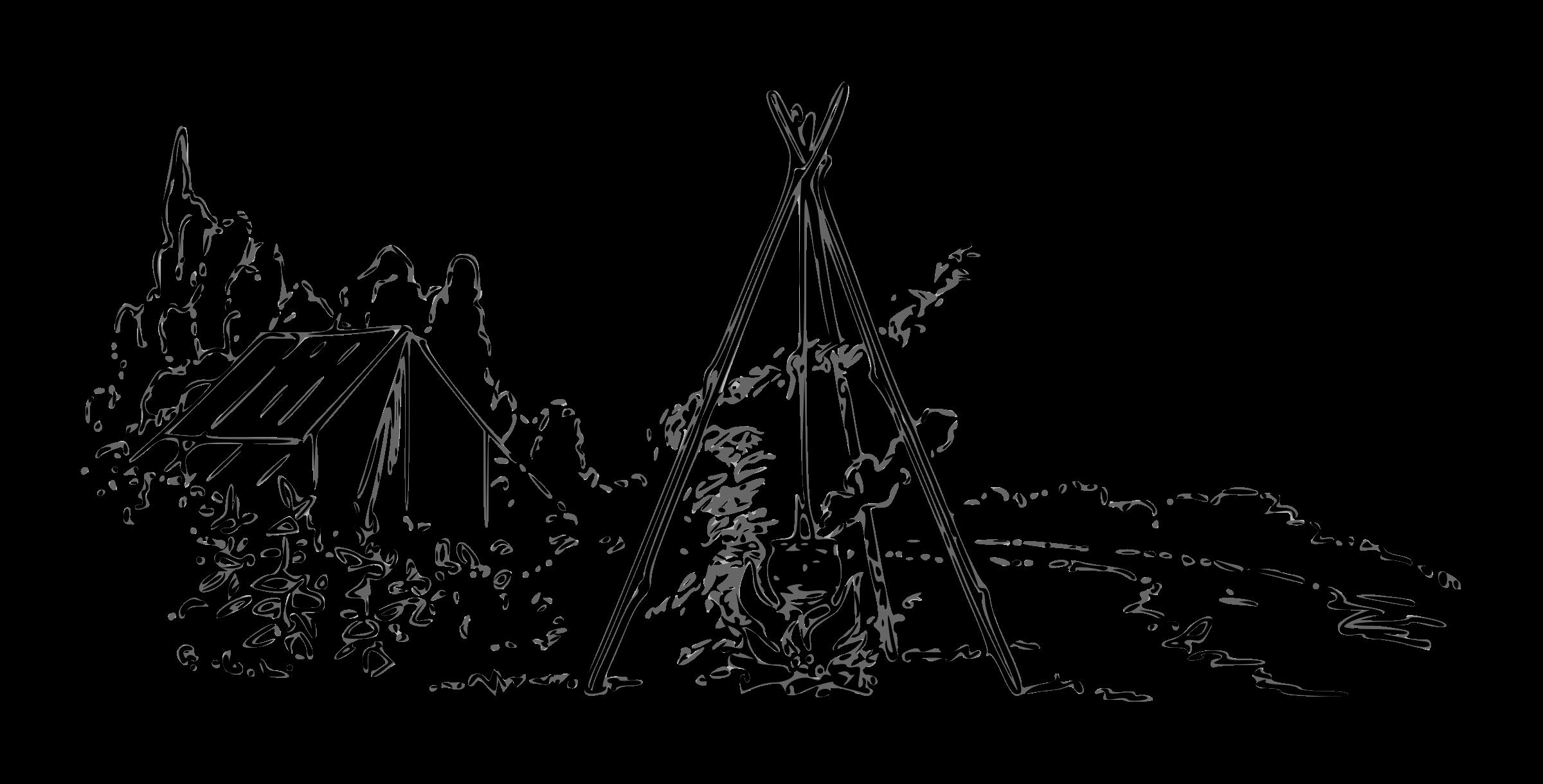 Drawn campire transparent Campfire Lutz Lutz outline outline