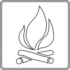 Campfire clipart wood fire ICliparts Fire Fire Around com