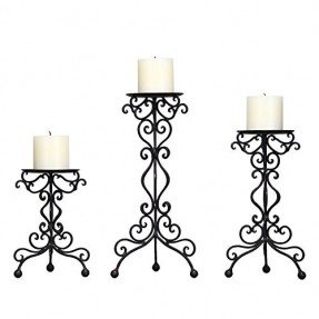 Drawn candle candle stand Top Various Desk Adeco Candle