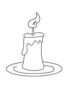 Drawn candle coloring page Sheet isrs2011 Coloring Page Coloring