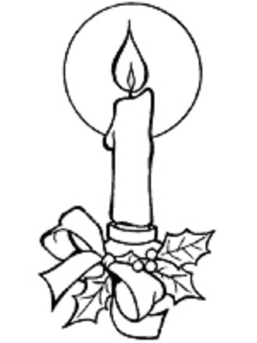 Drawn candle coloring page Pages coloring Pages candle page