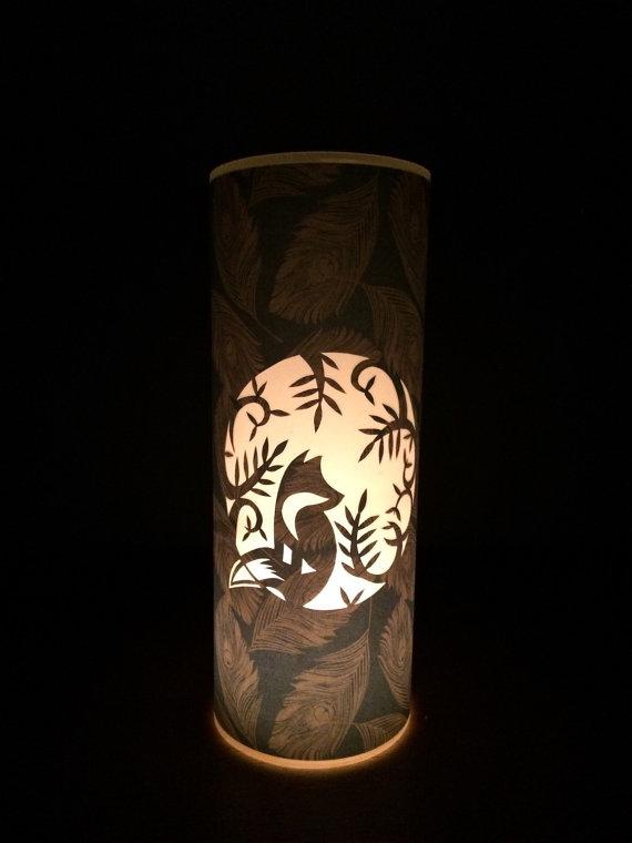 Drawn candle shade #10