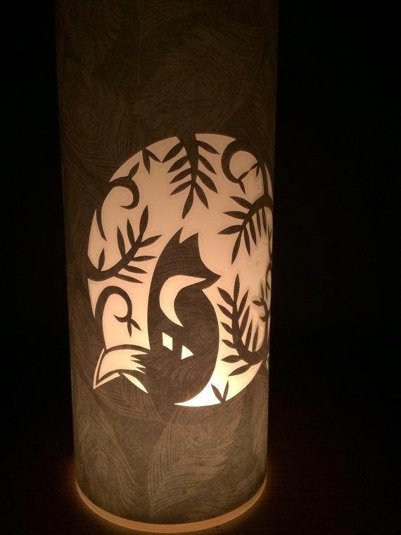 Drawn candle shade #11
