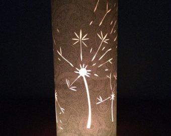 Drawn candle shade #3
