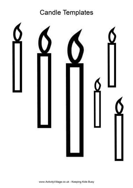 Drawn candle simple #2