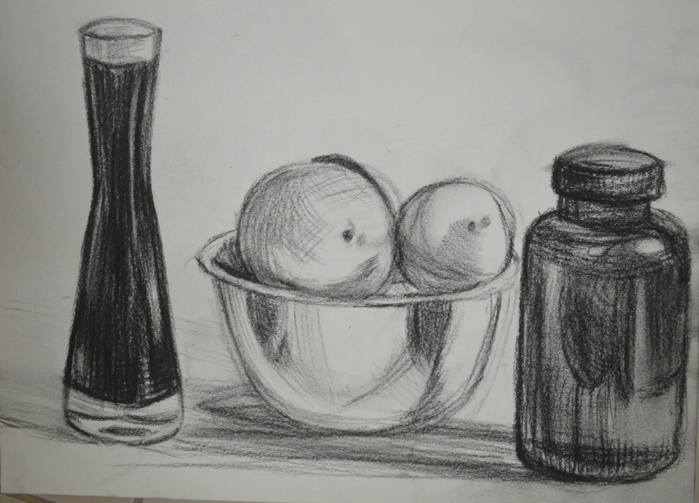 Drawn candle tonal OCA Working Coloured Different 2nd