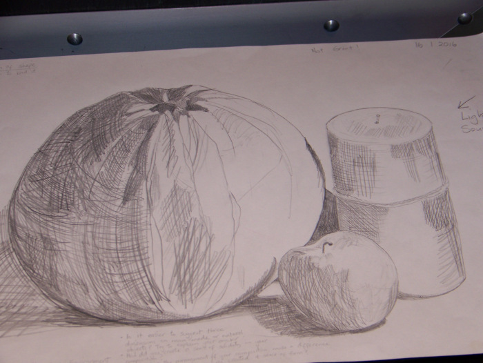 Drawn candle tonal Lots draw round Part 2