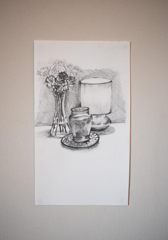 Drawn candle tonal Tonal Original still mini Like