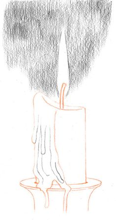 Drawn candle tonal Pinterest Draw and Candle oe9qolv3v5tdw