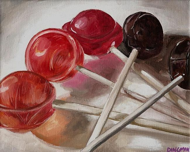 Drawn still life candy Color best still and Pinterest