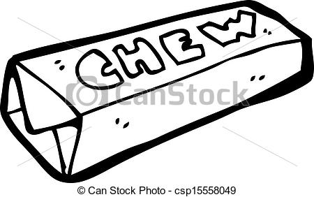 Candy Bar clipart drawing Search Vector of Vector cartoon