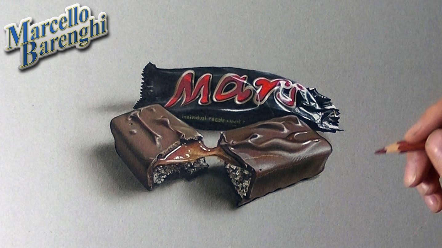 Drawn candy chocolate #5