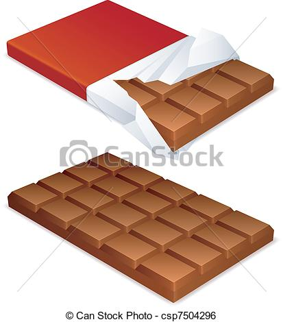 Candy Bar clipart unwrapped #3