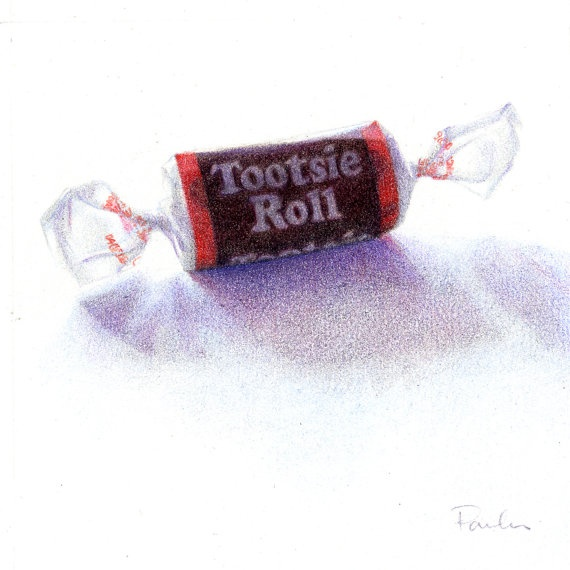 Drawn candy chocolate #7
