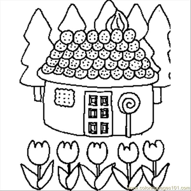 Drawn candy colouring page #10