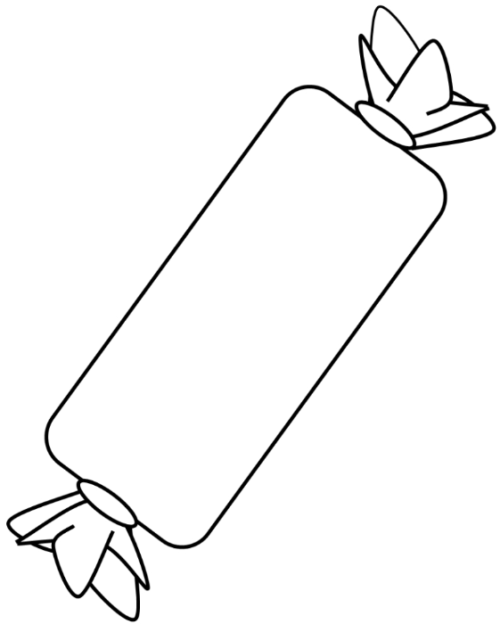Drawn candy wrapped candy Wrapped 262467584 Stockvektorgrafik white clipart