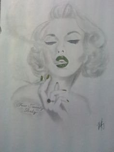Drawn rat dark Smoking Marilyn Drawing Google nall