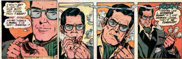 Drawn cannabis superman #5