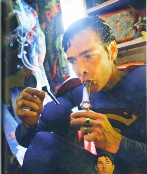 Drawn cannabis superman #10