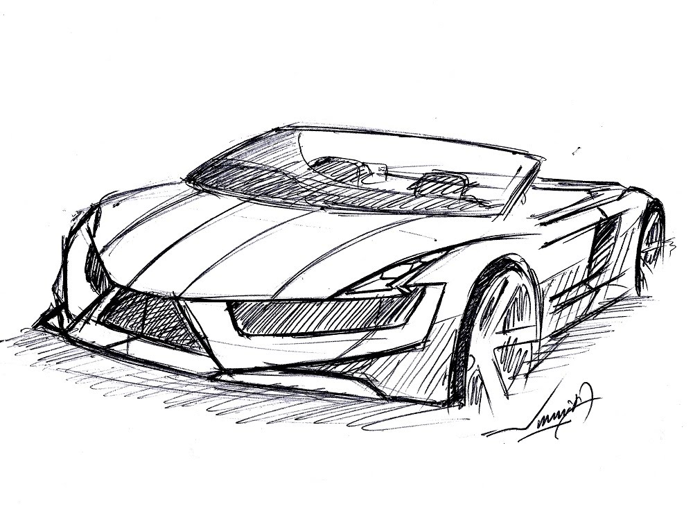 Drawn vehicle pen SUPER MINUTES DRAW  TO