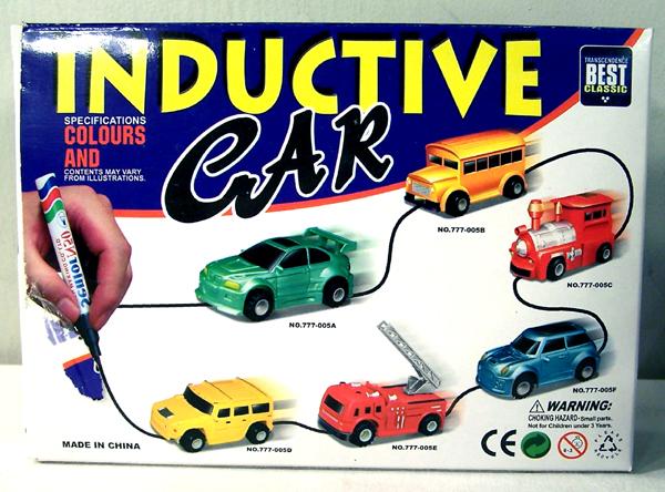 Drawn car toy car Toys Motorised Speak2Me Inductive Car