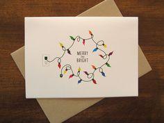 Drawn cards christmas light #2