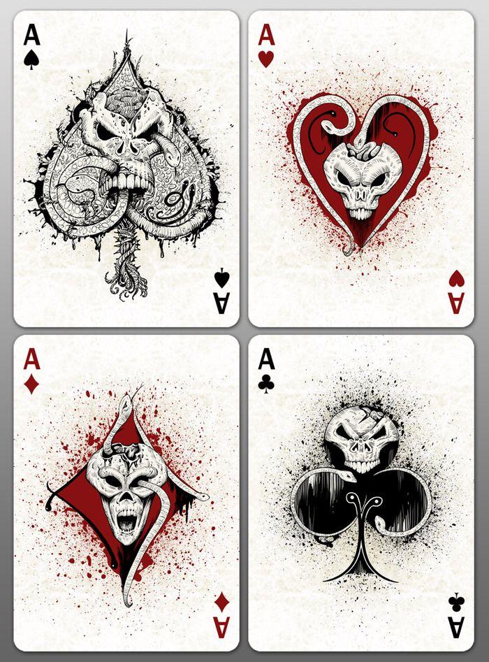 Drawn cards deck #15