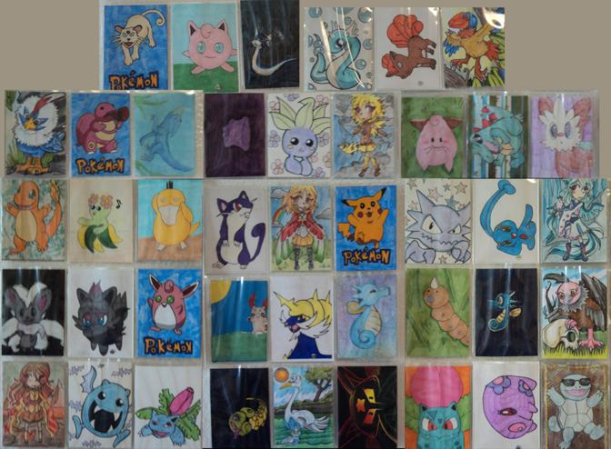 Drawn cards pokemon #5