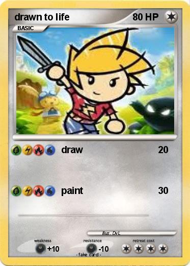Drawn cards pokemon #4