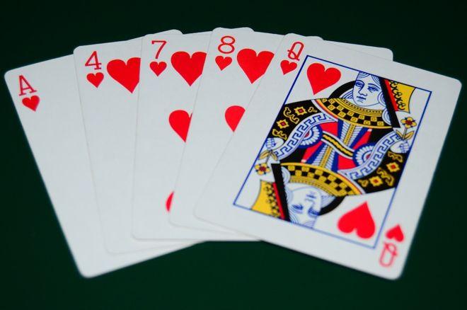 Drawn card poker #9