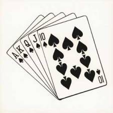Drawn card poker #3