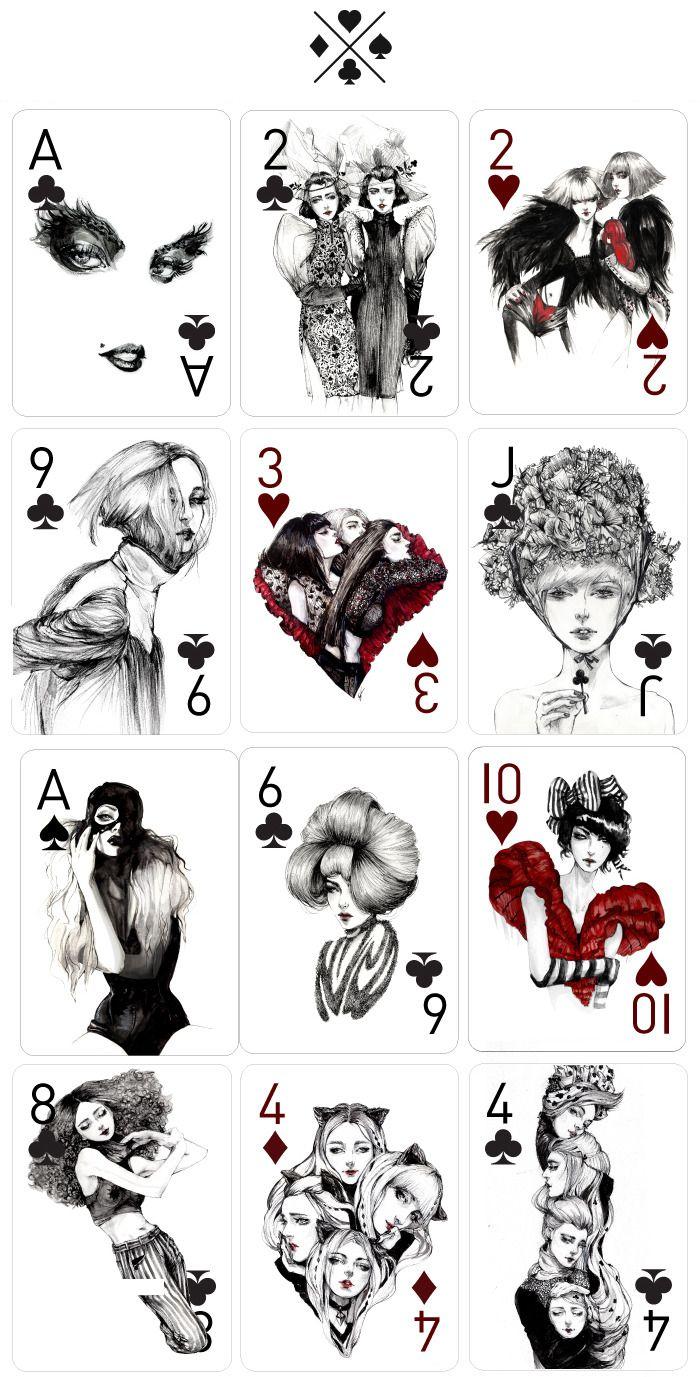Drawn card poker #13