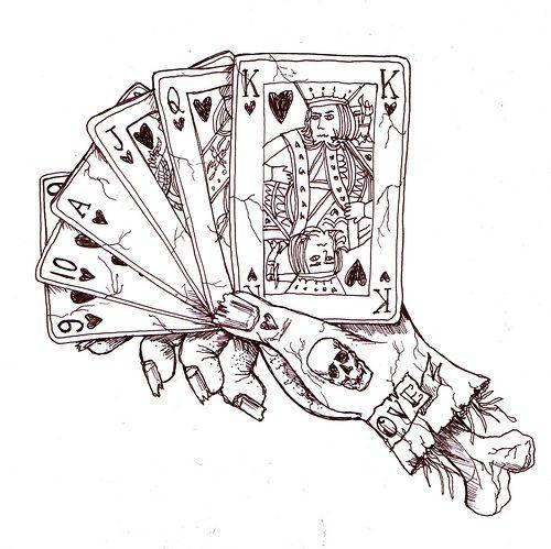 Drawn card poker #2
