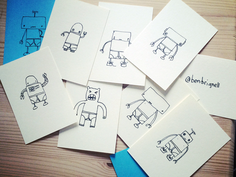 Drawn cards Cards  Dribbble Ben Hand