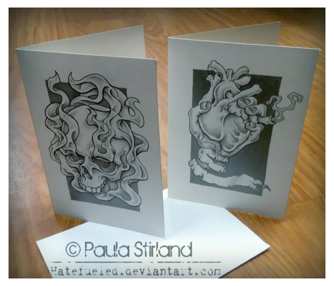 Drawn cards Hatefueled Hand DeviantArt by on