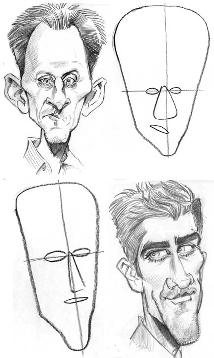 Drawn caricature Inc  Richmond jpg Illustration